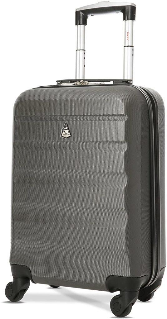 Valise cabine Aerolite ABS, bagage à main léger et pas cher