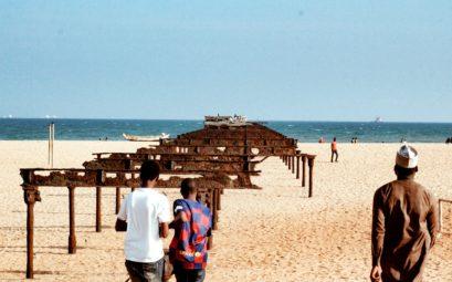 Plage à Lomé au Togo