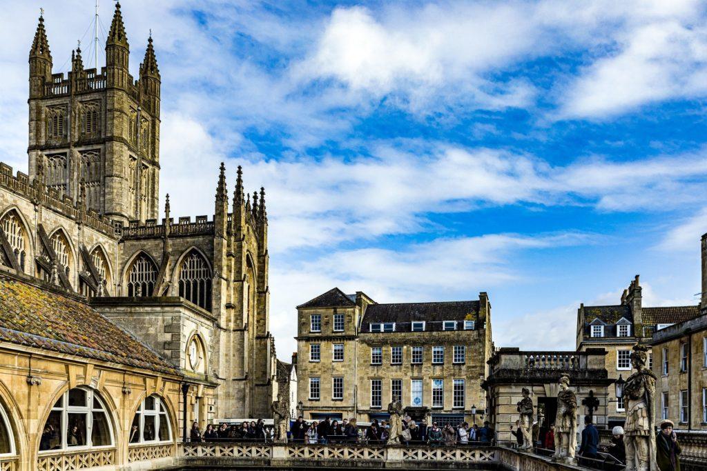 L'Abbaye de Bath en Angleterre