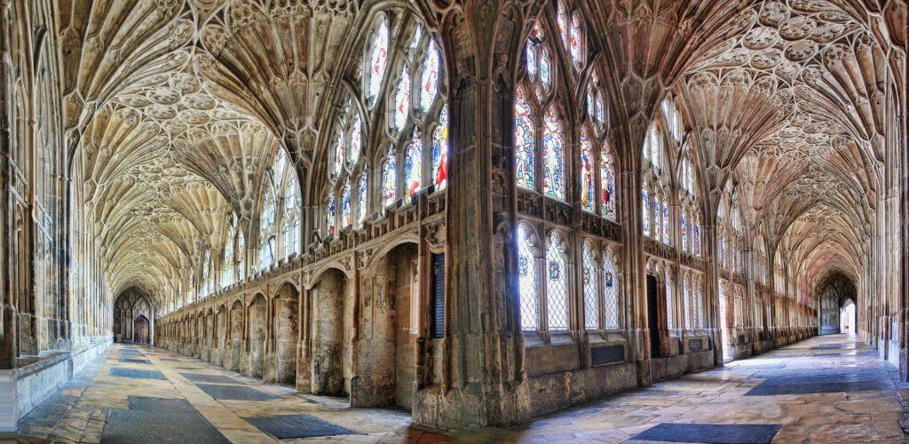 La Cathédrale de Gloucester en Angleterre