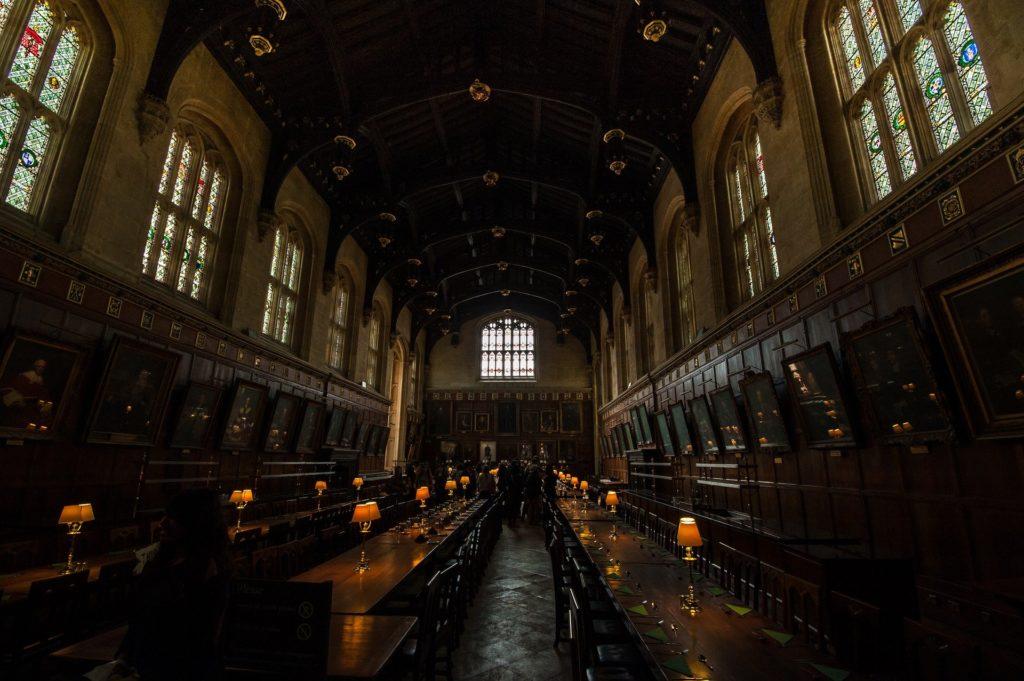 Oxford : lieu de tournage de nombreuses scènes des films Harry Potter