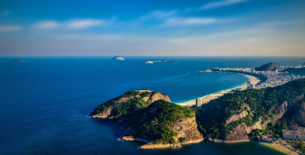 Vue sur Copacabana, quartier de Rio de Janeiro