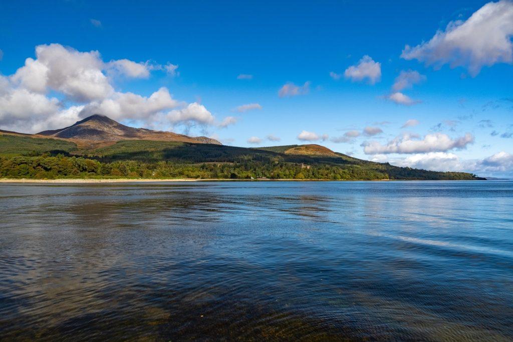 L'île d'Arran, Île dans le Firth of Clyde en Ecosse