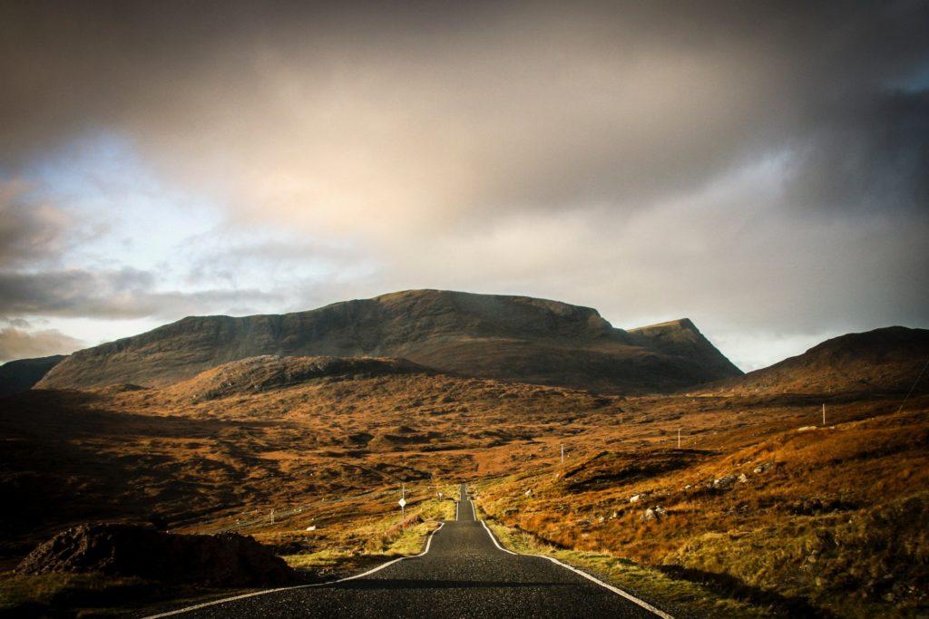 Se perdre sur les routes de l'île d'Harris, Outer Hebrides, Scotland