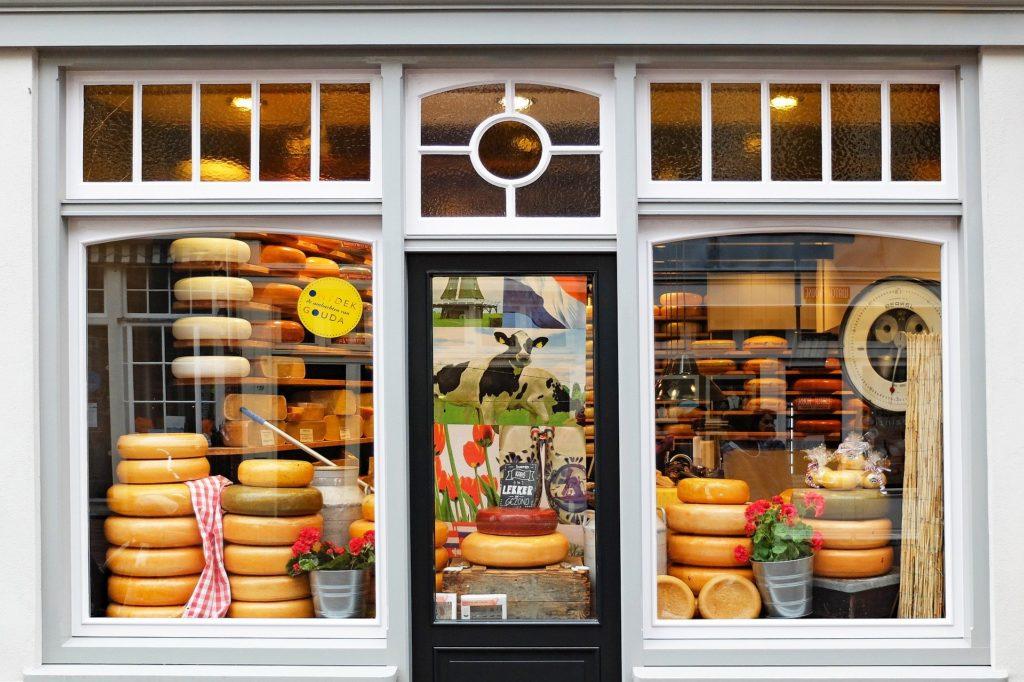 Gouda, ville du fromage éponyme aux Pays-Bas