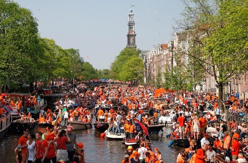 Le Koningsdag, fête nationale des Pays-Bas