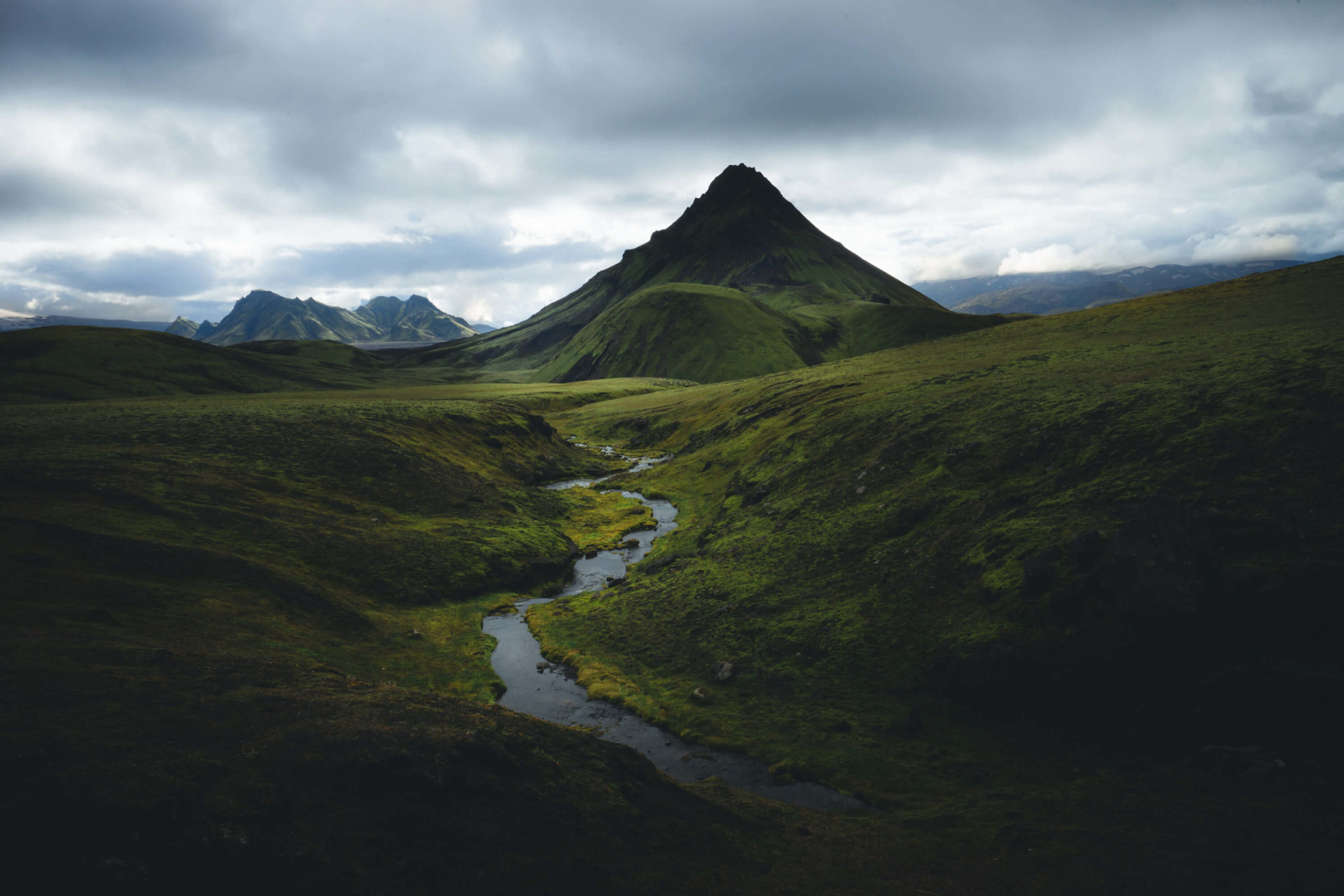 Islande : photo du Laugavegur Trek par Clément Simon