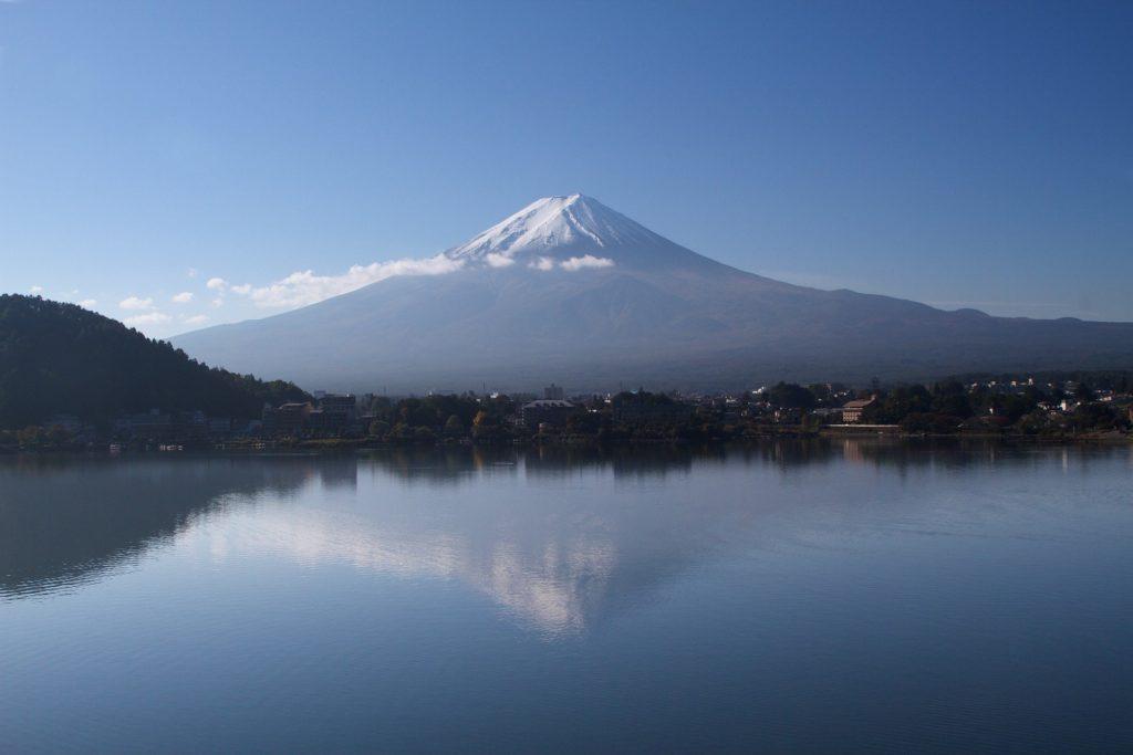 Le lac Kawaguchiko et le Mont Fuji