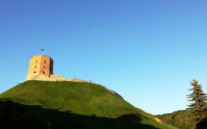 La tour Gediminas à Vilnius, capitale de la Lituanie