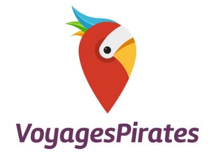 Logo de Voyages Pirates : bons plans voyages pas chers