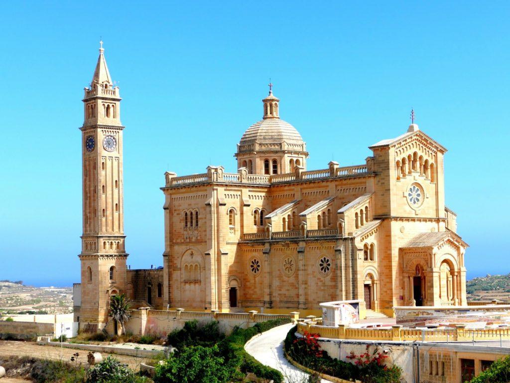 Sanctuaire national Ta' Pinu de Għarb, Gozo, Malte