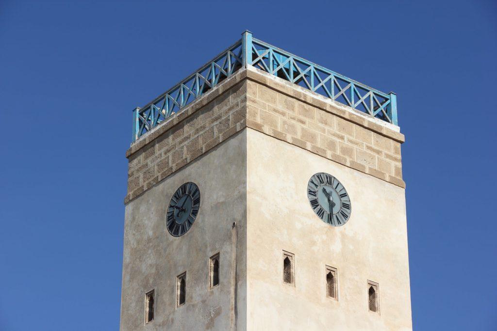 La tour de l'Horloge à Essaouira au Maroc