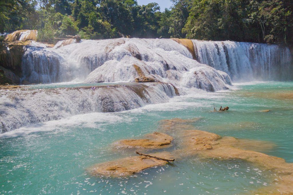 Chutes d'eau - Chiapas - Mexique