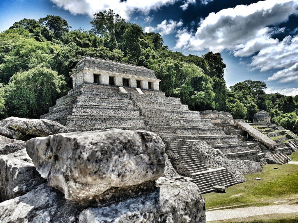 Pyramide Maya à Palenque