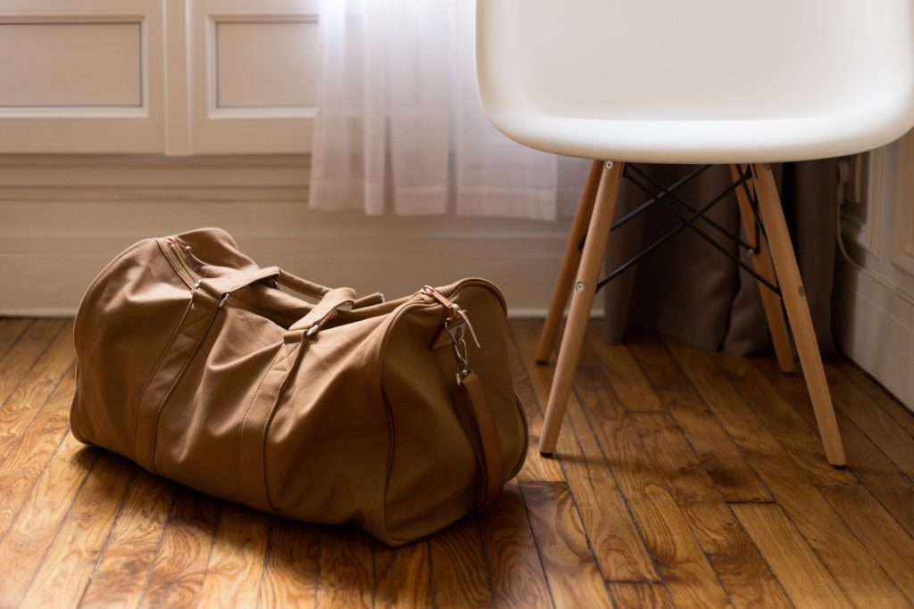 Sac de voyage en cuir autorisé comme bagage cabine