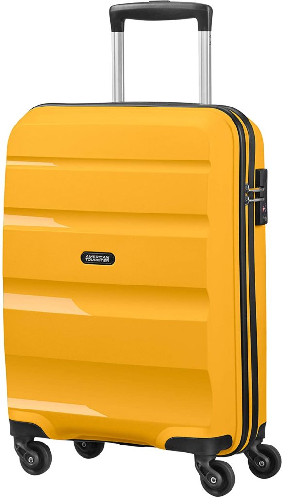 Valise cabine jaune American Tourister Bon Air Spinner Small