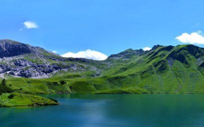 Lac Schrecksee en Bavière en Allemagne