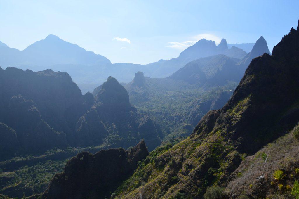 Randonnée dans le cirque de Mafate sur l'île de la Réunion