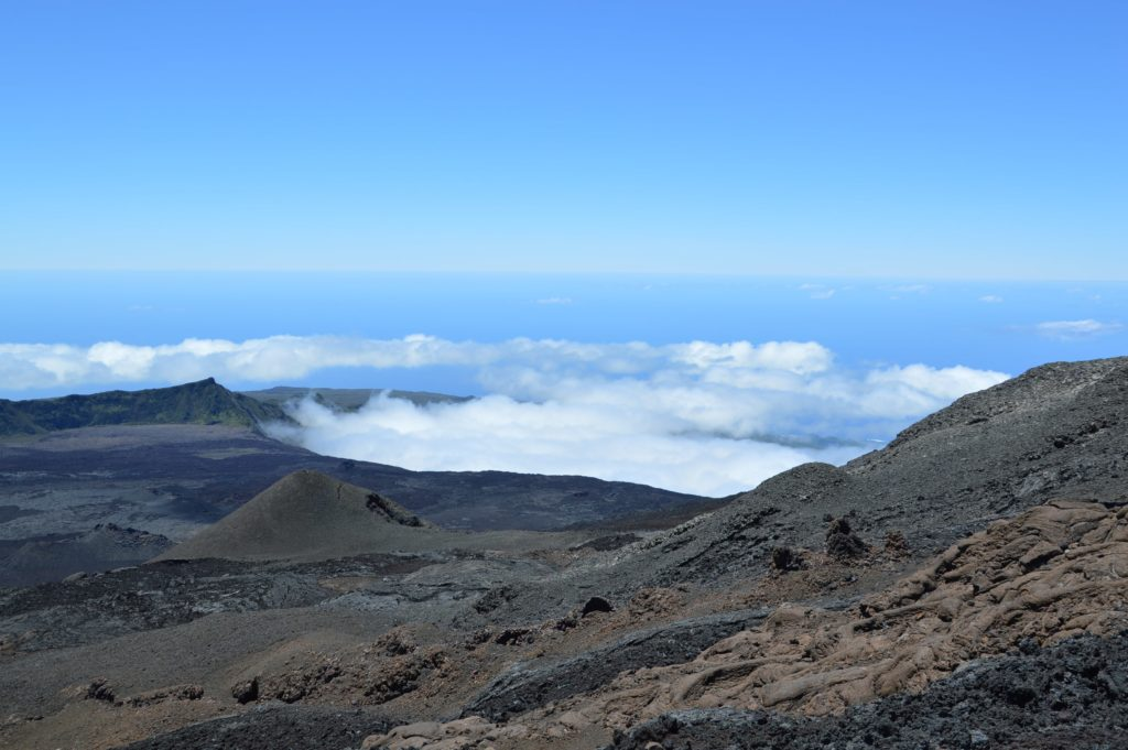 Randonnée du Piton de la Fournaise sur l'île de la Réunion