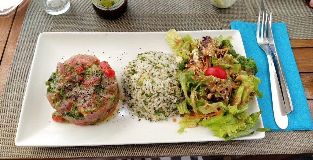 La gastronomie réunionnaise : le Tartare de thon