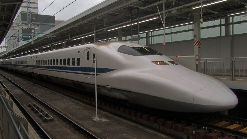 Le Shinkansen, le train grande vitesse japonais