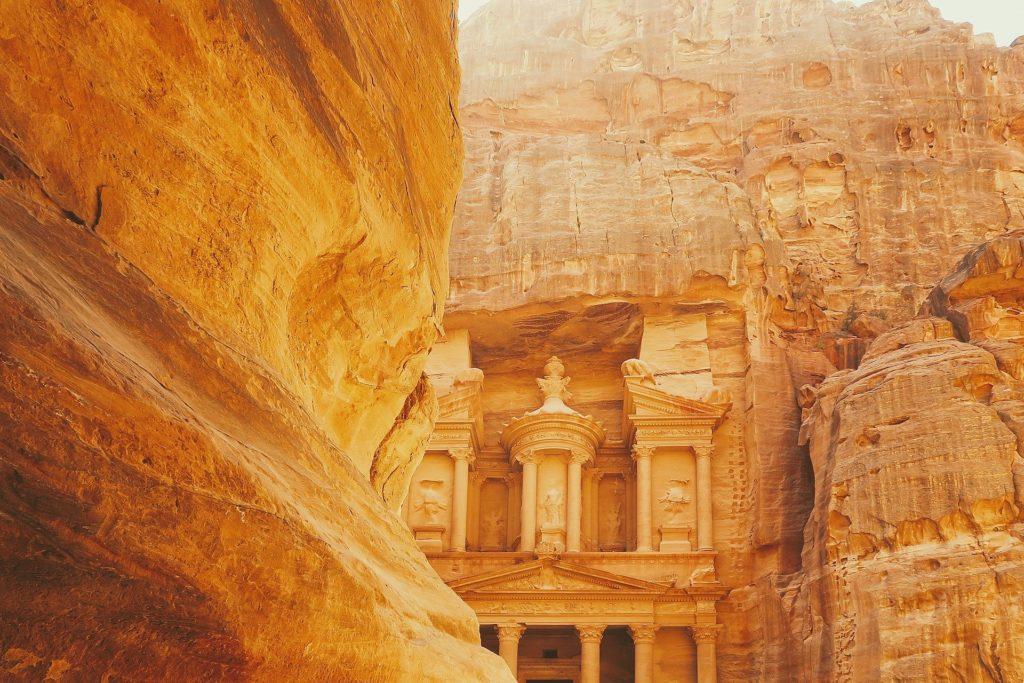 La cité antique de Petra en Jordanie