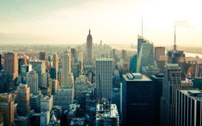 Le quartier de Manhattan à New-York
