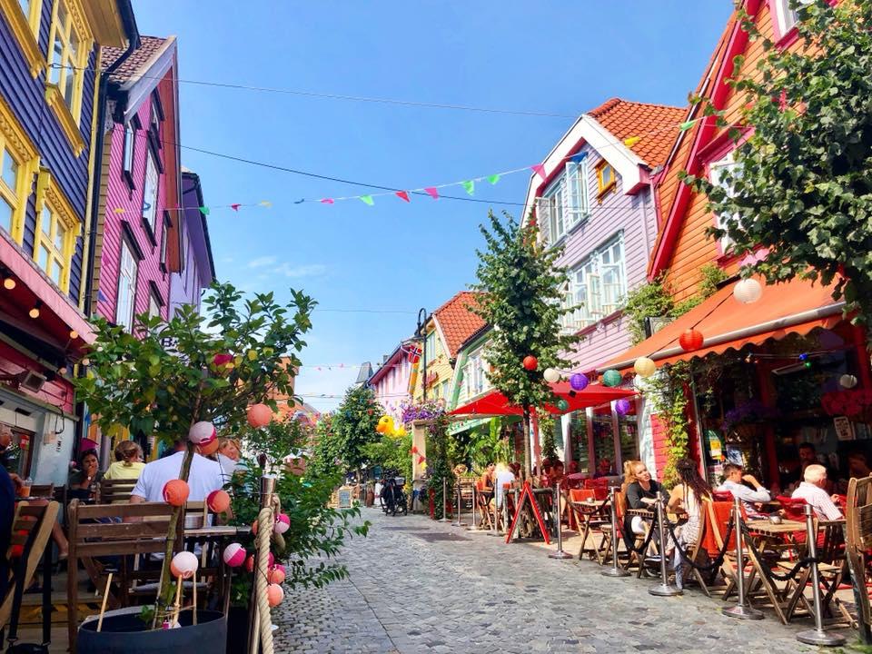 Stavanger, ville au sud ouest de la Norvège