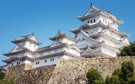 Le château Himeji au Japon