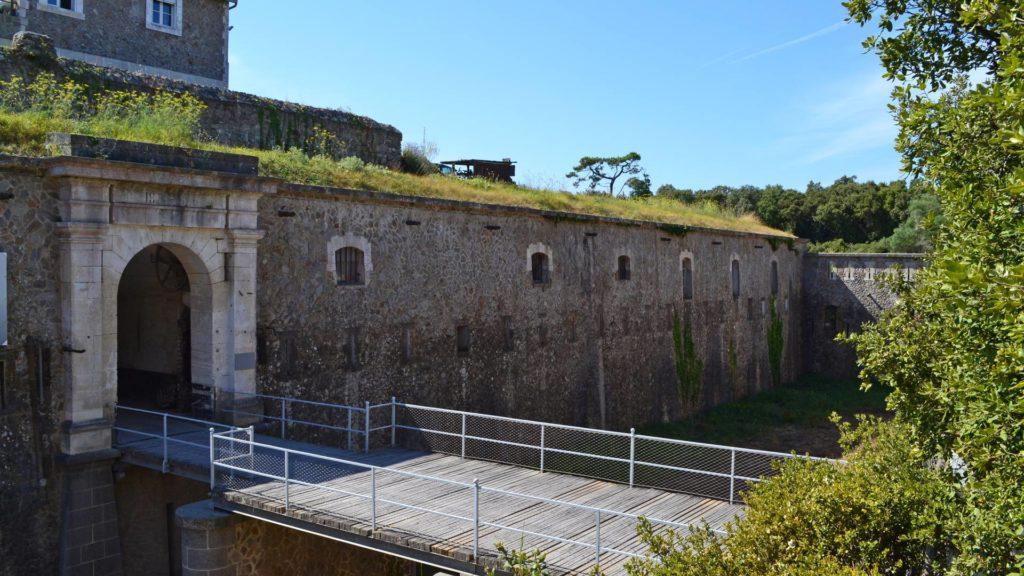 La Citadelle ou Fort de Pierre Levée sur l'île d'Yeu - Vendée (85) - France