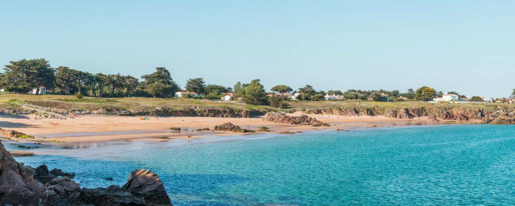 La plage des Vieilles - Île d'Yeu - Vendée (85) - France